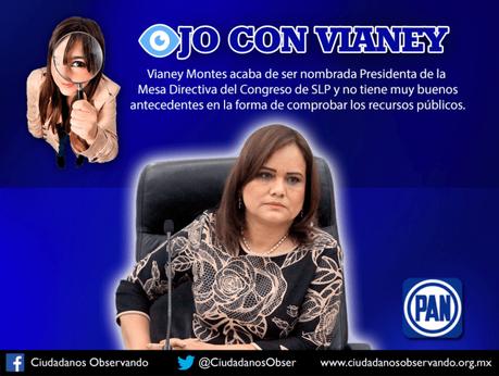Ojo con Vianey, Presidenta de la Mesa Directiva del Congreso Local: Ciudadanos Observando