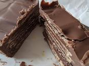 Torta obleas chocolate (huesitos)