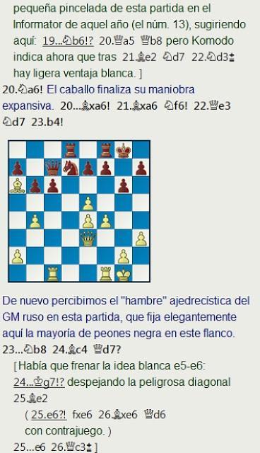 Grandes combates canarios (2) - Bronstein vs Gheorghiu, Las Palmas (3) 1972