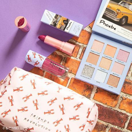 Nueva colección de maquillaje de Friends x Makeup Revolution