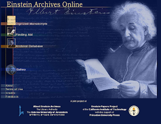 El legado digital de Albert Einstein