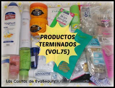 Productos Terminados belleza y cosmética Empties