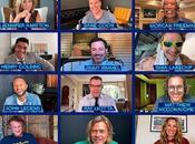 Actores Holliwood Interpretan videollamada pelicula FastTimesAtRidgemontHigh Brad Pitt Jenifer Aniston como protagonistas