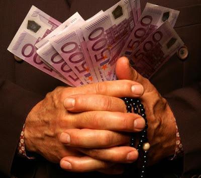 """La Iglesia gana más de 90 millones """"limpios"""" en tres años."""