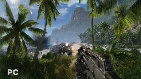 Crysis Remastered screen