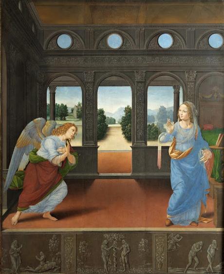 El espacio vital estético fue aquel huerto cerrado del Cantar de los Cantares que había profetizado el Arte.
