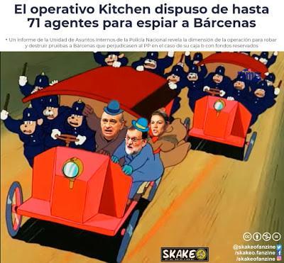 La Operación Kitchen y la guerra de nervios del PP.