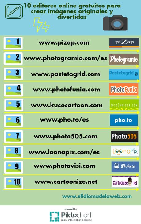 10 editores online gratuitos para crear imágenes originales y divertidas