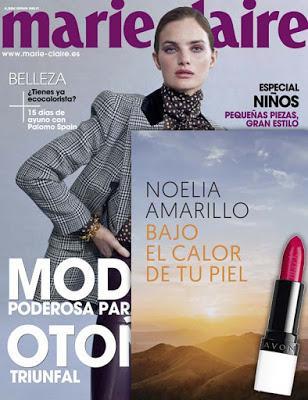 Revista y Regalos Marie Claire octubre