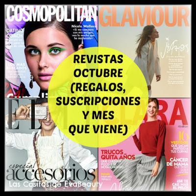 Regalos y Suscripciones Revistas Octubre