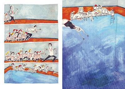 Ilustrando a... Bea Enríquez