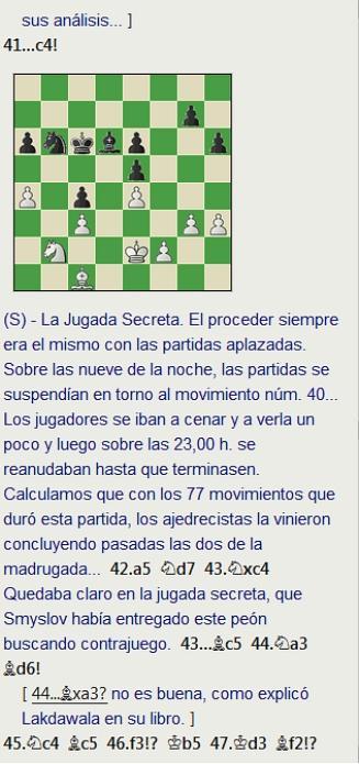 Grandes combates canarios (8) - Larsen vs Smyslov, Las Palmas (12) 1972