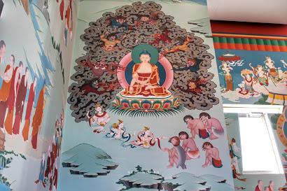 El mayor templo budista de Occidente