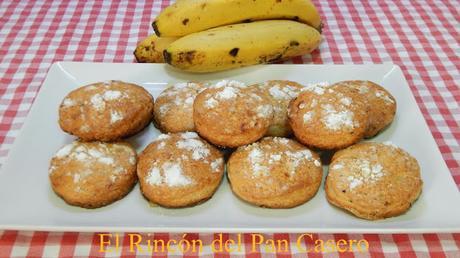 Receta de Galletas de plátano muy buenas y fáciles de hacer