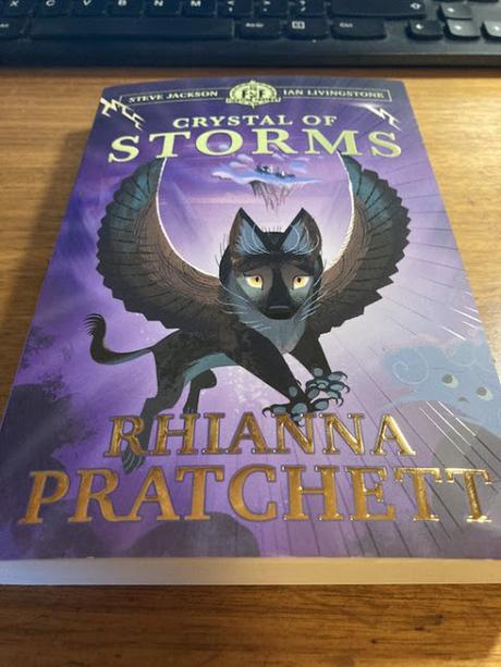 Rhianna Pratchett, nº 1 con Crystal of Storms