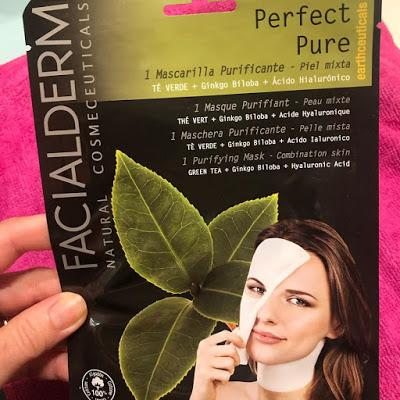 Perfect Pure.- Mascarilla Purificante.- Facialderm. Viernes de Spa.