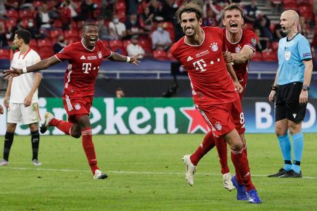 Bayern Múnich sufre pero se titula campeón de la Supercopa
