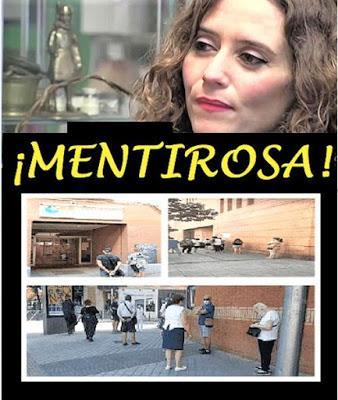 """Ayuso asegura que, en la Comunidad de Madrid """"no hay médicos para contratar"""""""