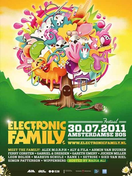 El trance protagoniza el festival holandés Electronic Family