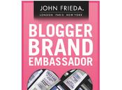 John Frieda Blogger Brand Ambassador