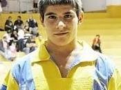 Kevin Hernández Almogarén) Juan Manuel López Arinaga) campeones 2011 lucha canaria Gran Canaria Juveniles pesos