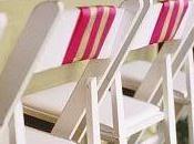 Decorar sillas para boda