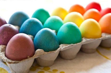 Ideas Originales: Una fiesta con Huevos de confeti y brillantina