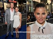 Elsa Pataky Chris Hemsworth estreno 'Capitán América' Hollywood