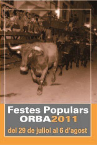 Orba. Fiestas Populares 2011