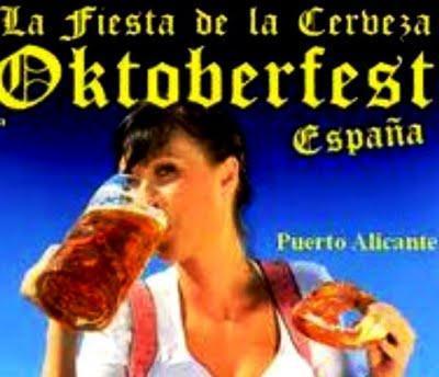 Alicante. Oktoberfest. La Fiesta de la Cerveza de Alicante 2011