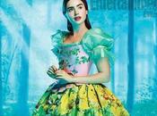 Primera imagen Lily Collins 'Snow White'
