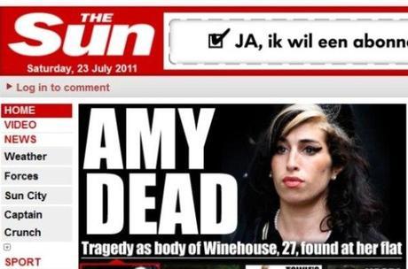 Lady Gaga afectada por la muerte de Amy Winehouse