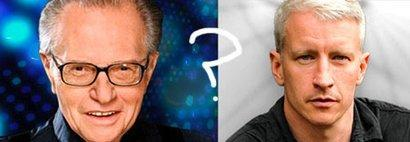Larry King quiere casarse con Anderson Cooper