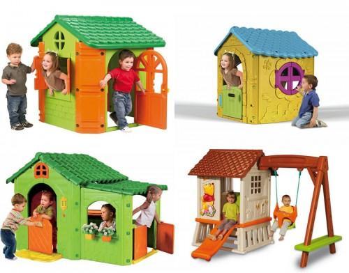 casas cocinas mueble casita madera infantil On casitas infantiles plastico