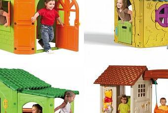 casa infantiles de plastico
