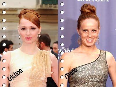 Pelirrojas + gallegas + T.V. + fashion!!