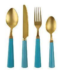 decoracion azul turquesa y dorado