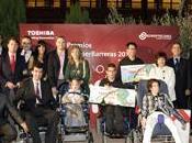 niño parálisis cerebral capaz comunicarse Tablet finalista premios Romper Barreras Toshiba
