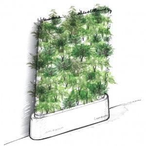 Muros verdes for Muros verdes arquitectura