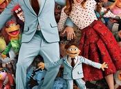 Póster familia 'Los Muppets'