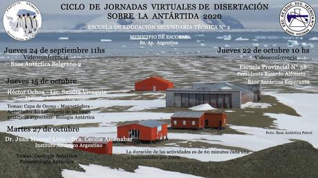PRIMER CICLO DE JORNADAS DE DISERTACIÓN SOBRE LA ANTÁRTIDA VIRTUALES - 2020