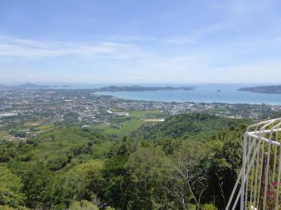 Vistas panorámicas, Gran Buda Phuket, Tailandia, La vuelta al mundo de Asun y Ricardo, vuelta al mundo, round the world, mundoporlibre.com