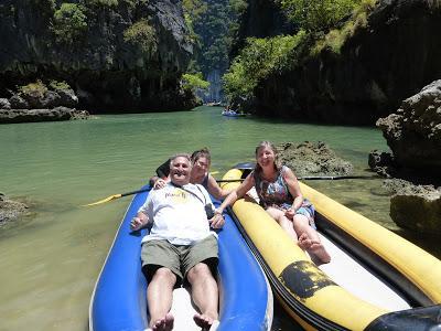Laguna en Hong Island, Tailandia, La vuelta al mundo de Asun y Ricardo, vuelta al mundo, round the world, mundoporlibre.com