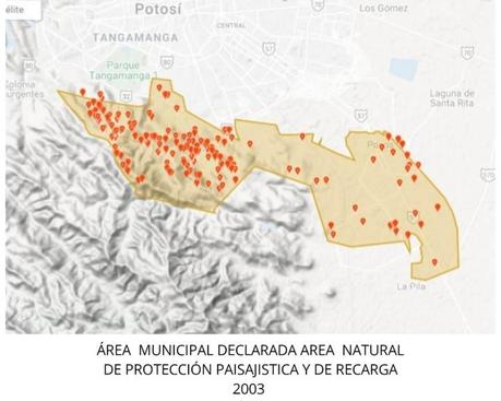 Dolosamente el IMPLAN quita protección a Sierra de San Miguelito