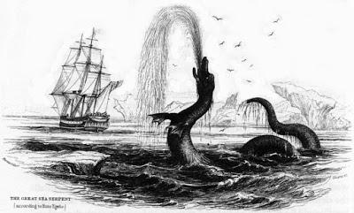 Una lista no exhaustiva de animales que podrían confundirse con serpientes marinas