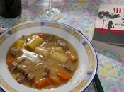 Cocinando Guillaume Musso: blanquette ternera