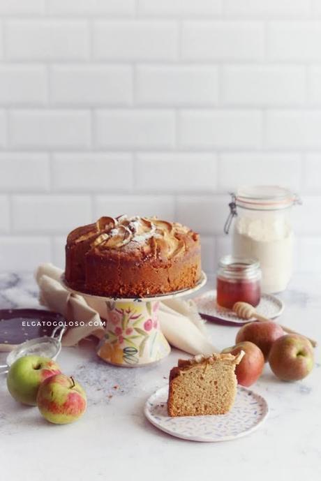 food photography cursos online y torta integral de maple