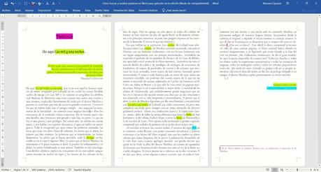 Cómo buscar y resaltar palabras en Word para aplicarlo en la edición de texto (6)