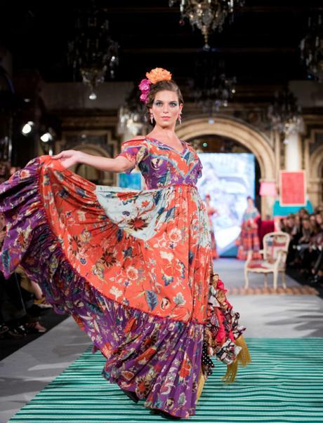 Faldas Flamencas Amarillas