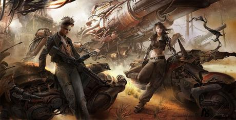 Megacity Mercenaries, de Miniroll Games: Cyberpunk y satanismo (!)
